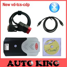 Wholesale Truck Diagnostic Sale - Wholesale- big sale vd tcs cdp pro with led cables for car and truck obd2 diagnostic tool free shipping