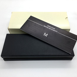 Wholesale Gift Boxes For Pens - Good Quality Famous Brand Pen Box with The papers Manual booklet For Gift Free Shipping