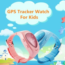 Wholesale Google Phone Calls - 5 pieces A6 GPS Tracker Kids Smart Watch Heart Oled Screen GPS LBS Tracking Locater Support SOS Call Google Map Ann