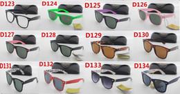 Wholesale Copper Shelves - Italian sunglasses metal shelves The colored lenses free shipping packing box