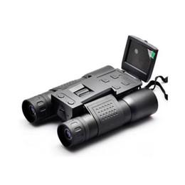 Wholesale Video Camera Telescope Zoom - BD318 2.0 inch Multi Functions 720P HD 12X32 Zoom Digital Binoculars Telescope Video Camera Support Multi Languages