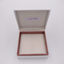 Wholesale Wholesale Display Case - Jewelry Packaging Box 5*5*4cm for with Pandora Style Jewelry bracelet Charms Beads Ring Box Jewelry Gift Display Cases Boxes packaging