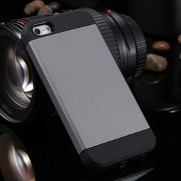 Wholesale Iphone4 Slim Case - TPU PC Hybrid iphone 4 Slim Ultra Thin Protective Phone Cover Armor Case For iphone4