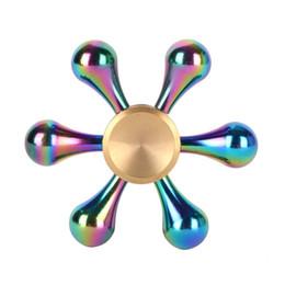 Canada 2017 Fidget Toys Motif À Main À Main En Métal Fidget Spinner et ADHD Adultes Enfants Jouets Éducatifs Loisirs cheap educational hobbies Offre