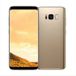 Wholesale Cheap 4g Sim Cards - Goophone S8 S8+ S8 Plus smartphone MTK6580 Quad Core 16GB ROM Curve Screen Good Quality 8MP Back Camera Show 4G 128G cheap Phone