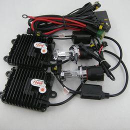 Wholesale H4 Hid Conversion Kits - AC Xenon HID Conversion Kit 12V 100W H4-3 Bi Hi Low 4300K 6000K 8000K