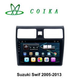 """Wholesale Swift Gps Dvd - 9"""" Touch Screen Android System Car DVD GPS For Suzuki Swif 2005-2013 Radio Phonebook BT 1080P Video Playing WIFI 3G OBD DVR Google"""