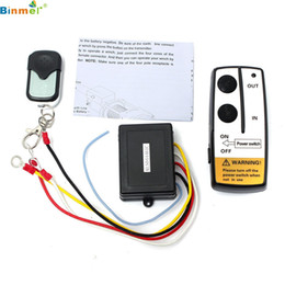 Wholesale Audio Data - Wholesale- DATA NEW ! smart House sonoff Electric Wireless Winch Remote Control Handset 12V Heavy Duty For Truck ATV SUV TOP quality dmar23