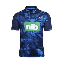Wholesale wine transfer - Rugby League New Zealand Super Rugby Union Hurricanes High-temperature heat transfer printing jersey Rugby Shirts