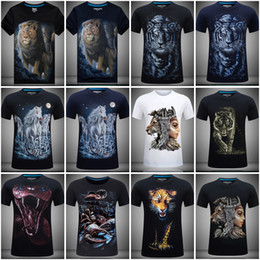 Wholesale Beauty Beast Shirt - Beauty and the Beast Short Sleeved T-shirt T Shirt for Man Woman with 3D Printing Explosion Stereo