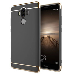 Wholesale Oppo Case Metal - Ultra-thin Electroplating Case 3 in 1 Matte Frosted Hard PC Back Cover Cases For XiaoMi Redmi 4X 4A Note 4 3 Mi 5S Plus 6 VIVO OPPO