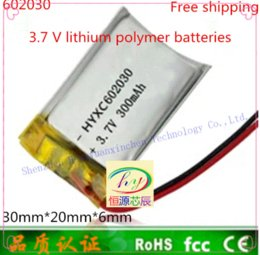 Wholesale Batteries Msds - ()polymer lithium battery 602030, 062030 point read recorder pen wholesale CE FCC ROHS MSDS attestation