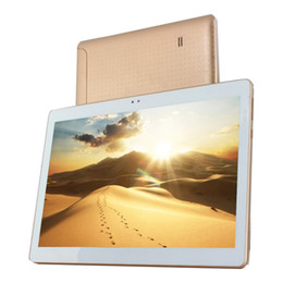 Wholesale Andriod Tablets Gps Bluetooth - Wholesale- New Arrival 10 Inch Andriod 4.4 Tablet 4G LTE Phone Call 16GB ROM Quad Core Bluetooth Phone Call Tablet 1280*800