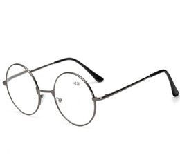 Wholesale great eyeglasses - Retro Metal Round Reading Glasses Men Women Eyeglasses Presbyopia Harry Potter Reading Glasses 12pcs Lot Free Shipping