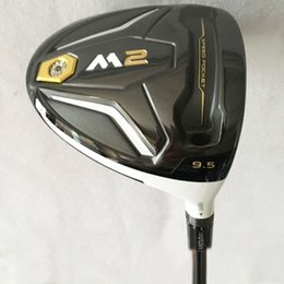 Wholesale Hand Clubs - New mens Golf clubs M2 Golf driver 9.5 10.5 loft Driver clubs Graphite Golf shaft R S Free shipping