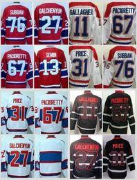 Wholesale Price K - Montreal Canadiens Jerseys Ice Hockey Winter Classic 11 Brendan Gallagher 27 Alex Galchenyuk 31 Carey Price 67 Max Pacioretty 76 P K Subban