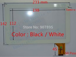 "Wholesale Dpt Digitizer - Wholesale-New black whie 9"" Tablet DPT 300-N4585A-B00 300-N4585A-A00 touch screen Panel Digitizer Glass Sensor 1628"