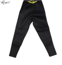 Wholesale Leg Shaper Leggings - Wholesale- Hot on tv Leg Shapers Fit Sweat Body Shaper weight loss long pants super stretch neoprene Fitness Leggings tight pants