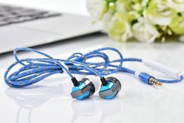Wholesale iphone ear plugs - Brand JKR-303 3.5mm Eerphones In Ear Plug Wired Earphones Stereo Earphones Noise Isolation with Mic Volume Control With Retail Box