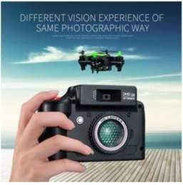 Wholesale Axis 2mp - New Fashion DHD D2 Mini Drone with Camera 2MP 2.4GHz 4 Channel 6 Axis Gyro Quadcopter 3D Rollover RTF Dron VS JJRC H20 H8 CX-10