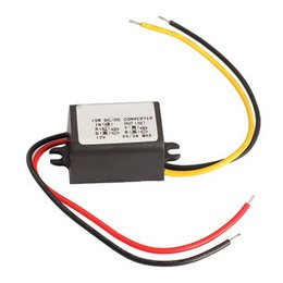 Wholesale Under Voltage - Wholesale- ME3L Hot Sale 23mm 12V To 5V 3A 15W Car Charger DC Voltage Regulator Converter Module