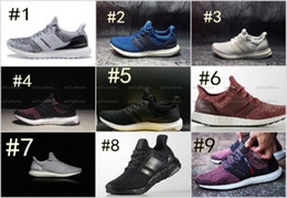 Wholesale Blue Snowflake Fabric - 2017 ultra boost 3.0 running shoes CNY triple black ultra boost white hypebeast primeknit ultra boost snowflake running sport shoes