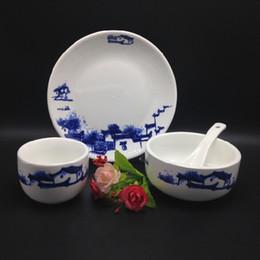Wholesale Dinnerware Wholesale China - Chinese style Ceramic Tableware Dinnerware Set and Ceramic Dinnerware,can be high temperature, health Dinnerware no2