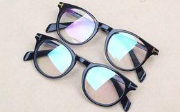 Wholesale Designer Optical Eyewear - Classic Retro Clear Lens Optical Frames Glasses Brand Designer Men Women Eyeglasses TF6123 Vintage Plank Spectacle Myopia Eyewear Frame