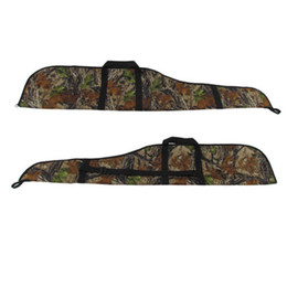 Wholesale Hunting Rifle Case - Tourbon Hunting Rifle Case Gun Slip Scope Cover Bag Camo Padded Shooting 142cm