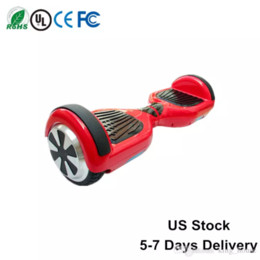 Wholesale Wholesale Electric Scooters - Ship From US UL hoverboard Smart Balance Wheel 6.5 Inch Self Balancing Scooter Electric Scooters Wholesale Price Drop Shipping