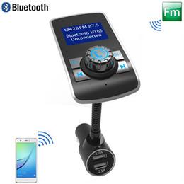 Akıllı Bluetooth FM Verici Modülatör 2.1A Araç Şarj BT El-ücretsiz Araç Kiti Desteği TF Kart MP3 Çalar FM Radyo cep telefonu Tablet PC için nereden bluetooth cep telefonu şarj cihazı tedarikçiler