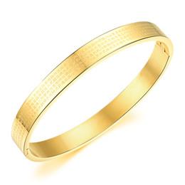 Abençoe pulseira on-line-Prata / Banhado A Ouro Pulseira Aberta Pulseira Das Mulheres Dos Homens Sutra De Aço Inoxidável Sorte Religiosa Benção Jóias Presente LGH817