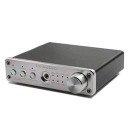 Wholesale audio amplifier digital input - Freeshipping New FX-Audio D302PRO Digital Audio Amplifier Input USB Coaxial Optical AUX 20W+20W Support 24Bit 192KHz DC15V 4A Power