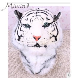 Wholesale Girl Huge - Wholesale- 2016 New Cool HUGE Luxury Tiger Head White Tiger Girl Head Fashion Luxury Style Bag Women Knapsack Backpack Boy Tiger Bags BG324