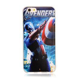 Wholesale Iphone Superhero Cases - Fantastic Superhero Hard Phone Case Cover for capinhas iphone 7 7 Plus 6 6s 5 5SE Case Marvel Batman Deadpool Comic Coque Fundas