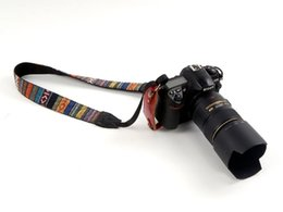 Wholesale Dslr Camera Bag Sale - Hot sale Camouflage camera Shoulder Strap Personalized Neck Belt For SLR DSLR Camera Accessories