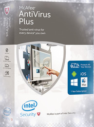Wholesale Plus Security - Wholesale McAfee antivirus Plus 2017 2018 1year 3years 3pc 3user 1user For multilanguage