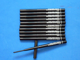 Wholesale Eyeliner Gel Pro - 60PCS Lot Pro Brand Makeup Rotary Retractable Black Gel Eyeliner Beauty Pen Pencil EyeLiner
