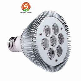 Wholesale Wholesalers Usa Live - CE ROhs LED Light PAR 30 21W 7x3W Spotlight E27 bulbs dimmmable or non-dimmable cool Warm White led PAR30 CE USA CREE chip