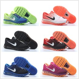 Wholesale Online Womens Sneakers - Wholesale air 2017 for sale Run Running Shoes mens and womens black white Runings Shoe Athletic Outdoor Sneakers online Size36-45