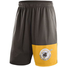 Wholesale Short Plus Size For Man - free shipping,new styles of Men's San Diego Padres Brown Cooperstown Collection Dry Fly short,accept mix order,any size.best service for you