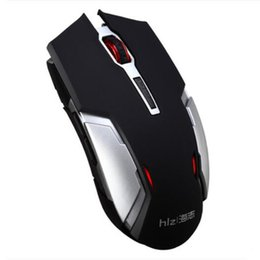Wholesale Wireless Pc Gaming Mouse - Wireless Charging Mouse 2.4GHz Mice for PC Laptop New Design Slim Gaming Mouse for Desktop Black or White Colors with Nano HAIZHI