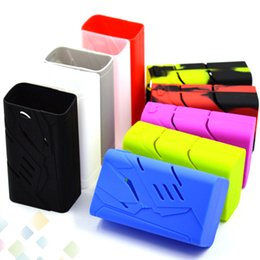 Wholesale Colorful Smok T Priv Silicone Case Soft Protective Sleeve Cover for W T Priv Box Mod High quality Best Price DHL Free