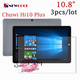 Wholesale Ipad Clear Screen Covers - Wholesale- with Tracking number 3pcs lot High Clear Screen protector For Chuwi Hi10 Plus 10.8 inch,high clear screen protective film cover