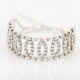 Wholesale Wheat Link Bracelet - Accessories wholesale Top Quality sliver Plated Inlay Cubic Zirconia Wheat-shaped Bracelets & Bangles Jewelry Austrian Crystal Bracelets