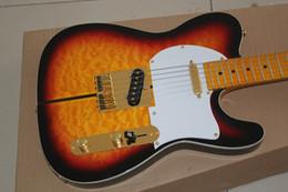 2019 12 cordas mão esquerda Hot Sale Custom Shop Alta Qualidade Sunburst Blueburst Tuff Dog Tele 6 Cordas Guitarra Elétrica Frete grátis