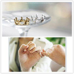 Wholesale Direction Rings - G025 One Direction Hot Selling Bijoux 2016 New Fashion Crown Finger Ring For Women Jewelry Wedding Accessories Cheap Wholesale