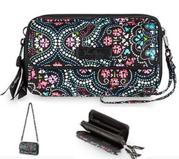 Wholesale Cell Phone Wallets For Women - VB mickey crossbody wristlet for 6+