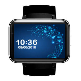 Wholesale Display Phone 3g - Free shipping new arrival 2.2 display big touch screen smart watch phone with GPS WIFI 3G android watch phone