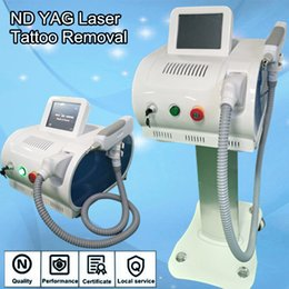 Wholesale Switching Source - Q switch laser machine with yag laser source tattoo removal ipl pro permanent laser equipment free shipment
